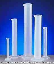 More info on Polypropylene Measuring Cylinders with Moulded Graduations