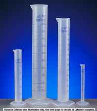 More info on Polypropylene Measuring Cylinders with Printed Graduations