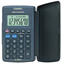 More info on Casio HL820VER Pocket Calculator