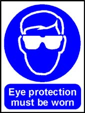 More info on 'Eye Protection Must Be Worn' - Safety Sign