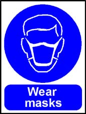 More info on 'Wear Masks' - Safety Sign