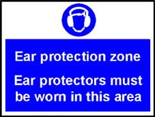 More info on 'Ear Protection Zone' - Safety Sign
